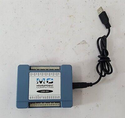 Mc Measurement Computing Usb-201 Data Acquisition Usb Daq Device 12-bit 100 Kss