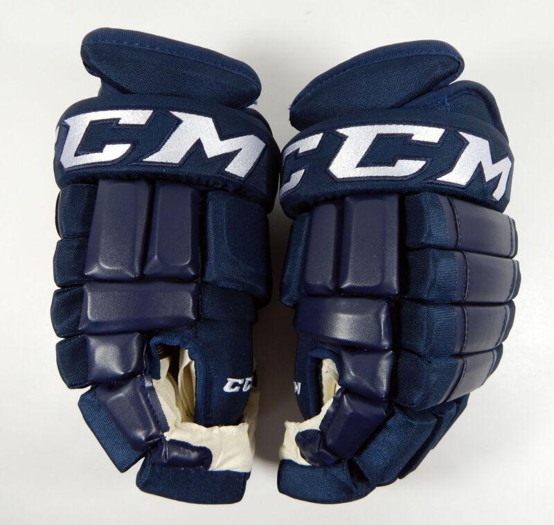 """CCM HG98 Senior Pro Stock Navy Hockey Gloves 15"""""""