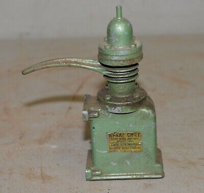 Antique Small Parker Air Pump Collectible Steampunk Industrial Mini Vintage Tool