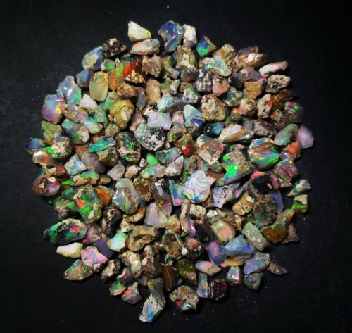 AAA Quality Natural Ethiopian Opal Rough Loose Gemstone Lot 50 CT