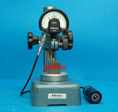 Mahr Supramess 0.000020 Dial Indicator 1002-z Mitutoyo Comparator Stand