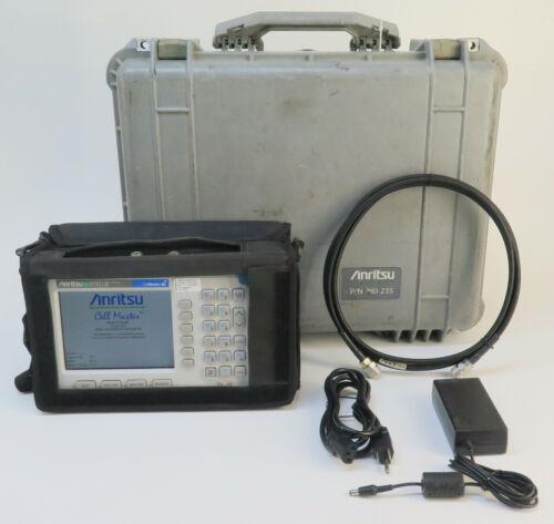 Anritsu CellMaster MT8212B Base Station Analyzer GPS w/ Opt 31, 33, 34, 42, 43 +