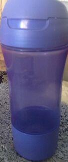 Tupperware purple 400mls Kids fast quench drink/water bottle purple