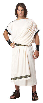 Men's Deluxe Toga Man Roman Greek 300 Adult Costume   - Greek Costume Men