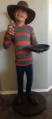 Lifesize FREDDY KRUEGER Nightmare on Elm Street 6ft Butler Prop Statue](Life Size Freddy Krueger)