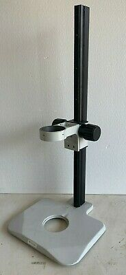 Large Stereo Microscope Adjustable Focus Stand Holder Base 29 Tall