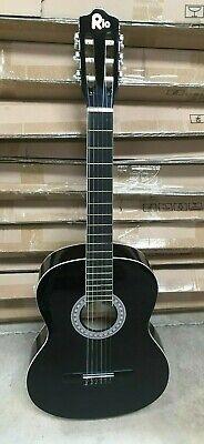 39'' 4/4 Size Beginner classical Acoustic Guitar Black