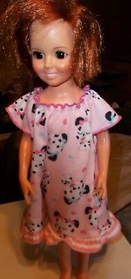 """Vintage Crissy 18"""" Doll. Great Cond. Red Hair pulls out for longer length.Ideal"""