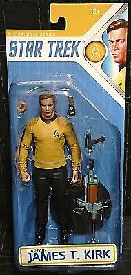 """Star Trek The Original Series CAPTAIN JAMES T KIRK 7"""" Figure (Shatner/McFarlane)"""