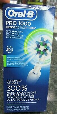 BRAND NEW!! Oral-B Pro 1000 CrossAction Braun Rechargeable Electric Toothbrush