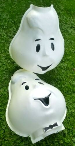 VINTAGE casper the friendly ghost lamp post cover shamrock plastics blow mold