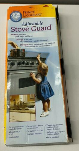 2004 Adjustable Stove Guard Prince Lionheart 24x36 NEW IN BOX