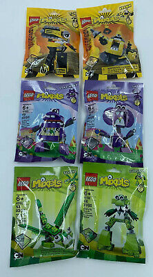Lego Mixels Series 6 Complete Set of 6 Sealed Packs New