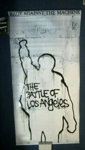 Rage Against The Machine RAGE 1995 Original Store Display Vinyl Banner