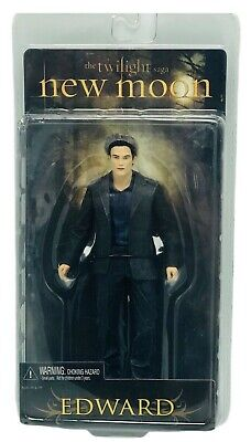 The Twilight Saga Edward Action Figure New Moon 2009 NECA Toys Vampire Bella NIB