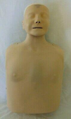Laerdal Resusci Anne Airway Cpr Emt Training Nurse Manikin W Light Blu Soft Case