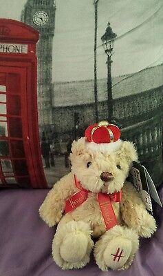 Harrods Royal Baby Bear  Mini Teddy Bear  NWT