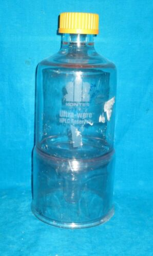 1000ml Kontes Ultra-ware HPLC Reservoir, Conical Bottom and Coated