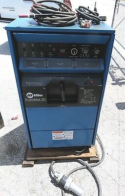 Miller Syncrowave 351 Acdc Welding Power Source 903219
