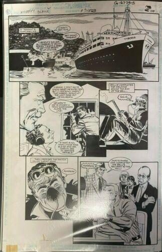 MODESTY BLAISE DC GRAPHIC NOVEL DICK GIORDANO ORIGINAL ART PAGE #109 #oa-1201