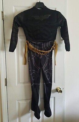 Rubie's Batman Dark Knight Rises Child Deluxe Muscle Chest Batman Costume  - Deluxe Batman Dark Knight Costume