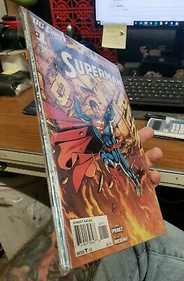 Superman New 52 DC Comics Issues #1-8 George Perez and more VF or