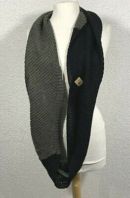 The North Face Womens Infinity Scarf One Size Black And Gray