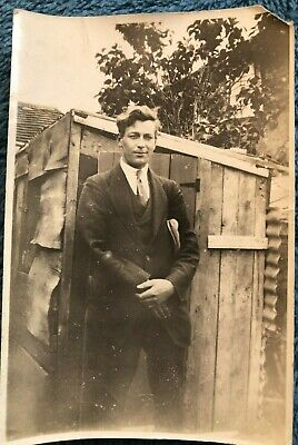 New 1930s Mens Fashion Ties Vintage Old Photograph Handsome Young Man Wavy Hair Jacket Tie Shed 1930's $4.19 AT vintagedancer.com