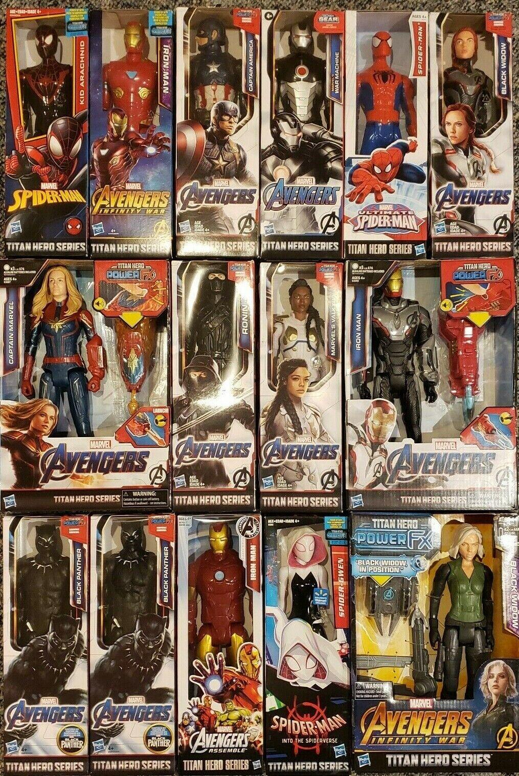 avengers titan hero series 12 inch action