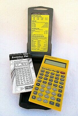 Calculated Industries Construction Master Electricalc Pro 5060 w/ Armadillo Case