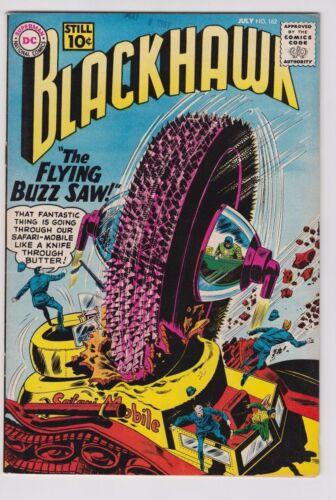 BLACKHAWK #162 1961 DC COMICS VF/VF+ CONDITION