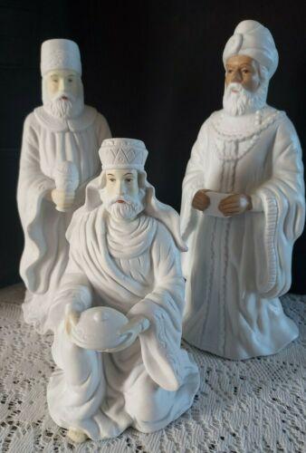 House of Lloyd Three 3 Kings Nativity Ceramic Figures Wise Men Christmas