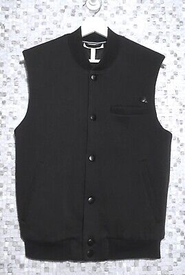 ADIDAS Neo Bomber GILET size S Vest Black Perfect Condition waistcoat for sale  Shipping to Nigeria