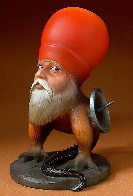 HIERONYMUS BOSCH Skulptur - Bärtige Missgestalt - Museumsreplikat - Figur JB17
