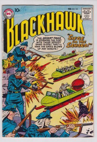 BLACKHAWK #121 1958 DC COMICS FN/VF CONDITION