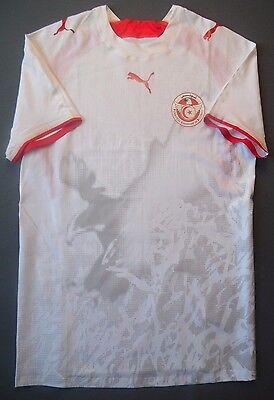 5/5 SIZE M Tunisia Home football shirt 2006~2007 Player Issue Match Shirt PUMA image