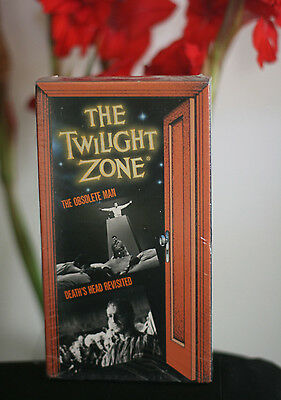 Rare THE TWILIGHT ZONE vhs /OSOLETE MAN /DEATH'S HEAD REVISITED / OOP