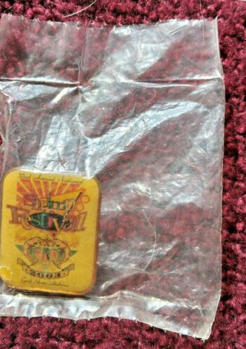 2003 32nd  Annual Gulf Shores Alabama Shrimp Festival Lapel Souvenir Pin
