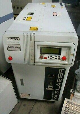 Miyachi Unitek Yag Laser Welder System Lw100unique Hereas-picturedlimited