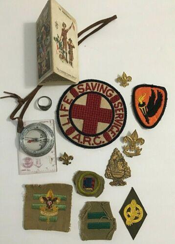 Vintage Lot of 12 Boy Scout Items