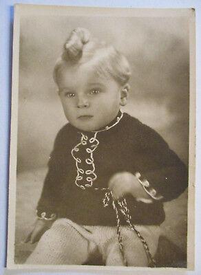 Kind, ca.50er Jahre, Haare Frisur, Foto G.Bätz Cadolzburg (27036) ()