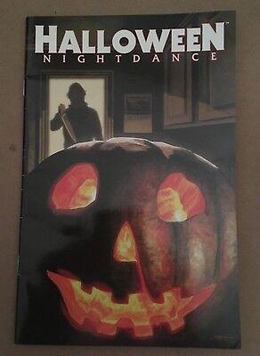 HALLOWEEN : NIGHT DANCE #1D 2008 Glow-In-The-Dark Cover GD ](The Halloween Dance)