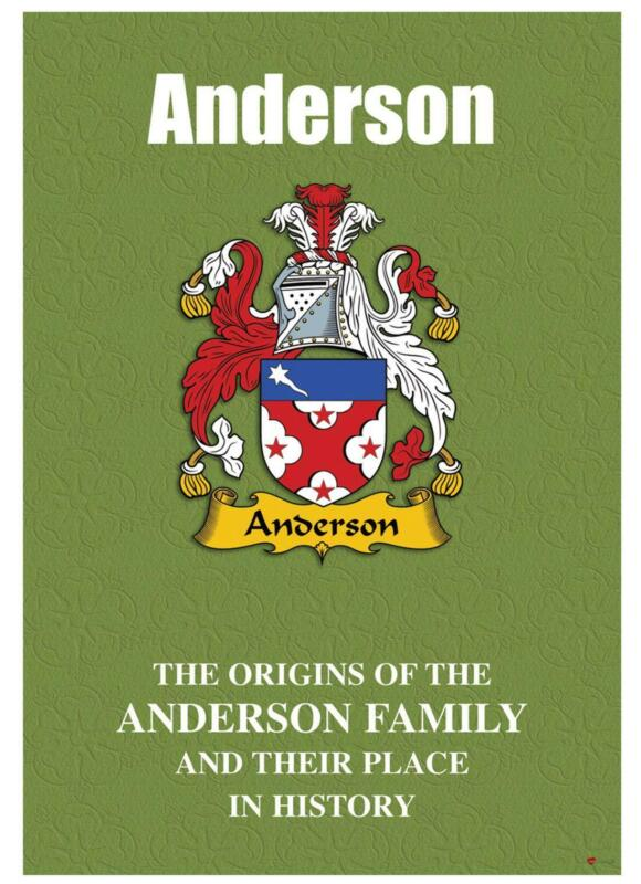 Anderson+English+Surname+History+Booklet+with+Historical+Facts+of+the+Name