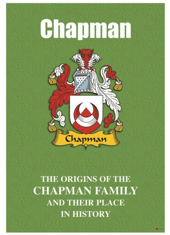 Chapman+English+Surname+History+Booklet+with+Historical+Facts+of+the+Name