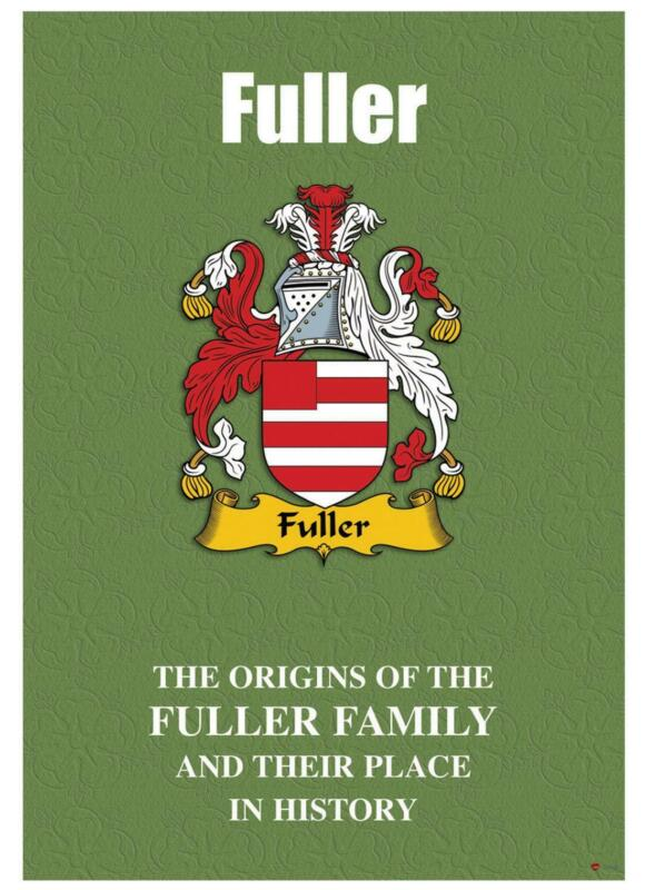 Fuller+English+Surname+History+Booklet+with+Historical+Facts+of+this+Famous+Name