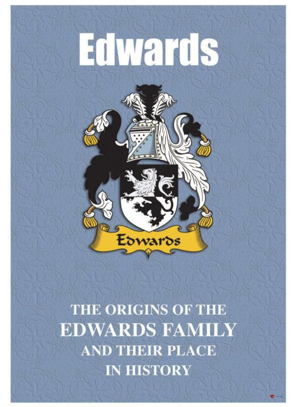 Edwards+English+Surname+History+Booklet+with+Historical+Facts+of+the+Name