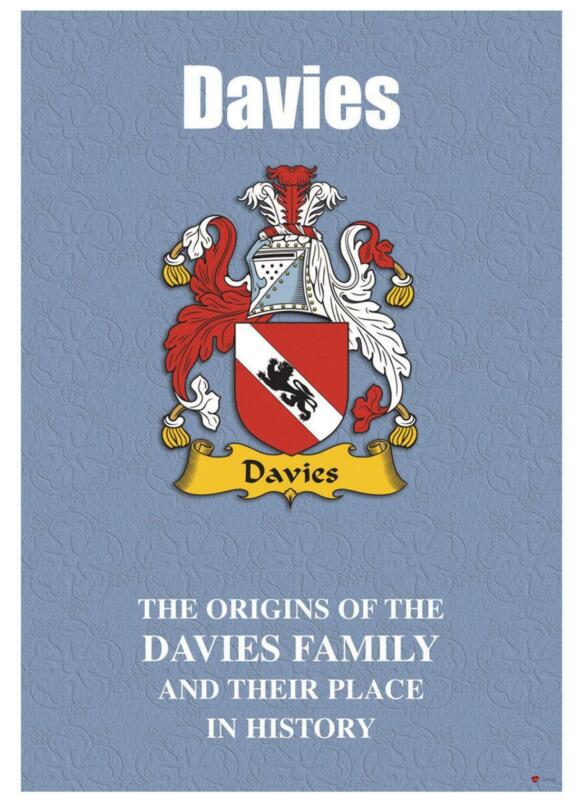 Davies+English+Surname+History+Booklet+with+Historical+Facts+of+this+Famous+Name