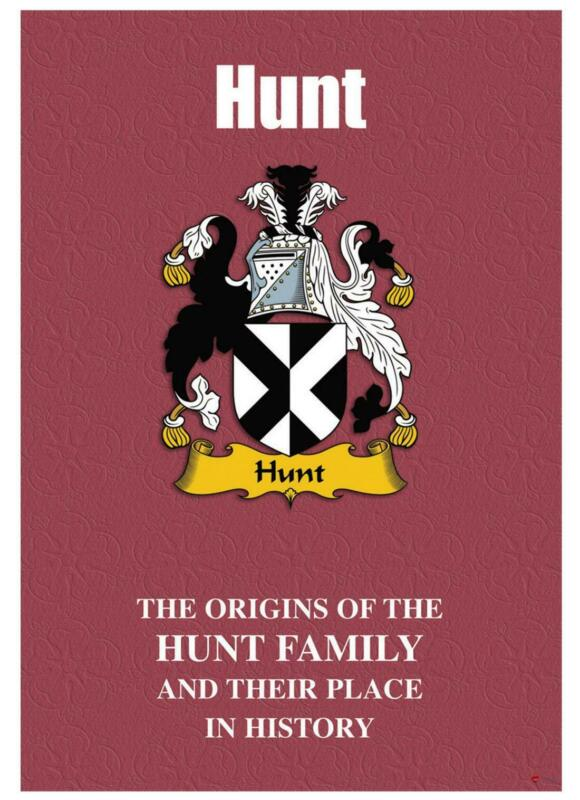 Hunt+English+Surname+History+Booklet+with+Historical+Facts+of+this+Famous+Name