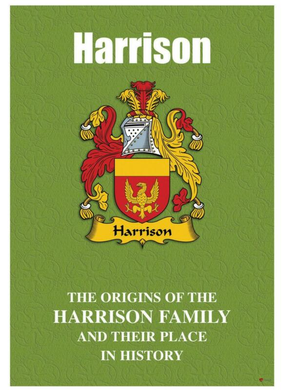Harrison+English+Surname+History+Booklet+with+Historical+Facts+of+the+Name