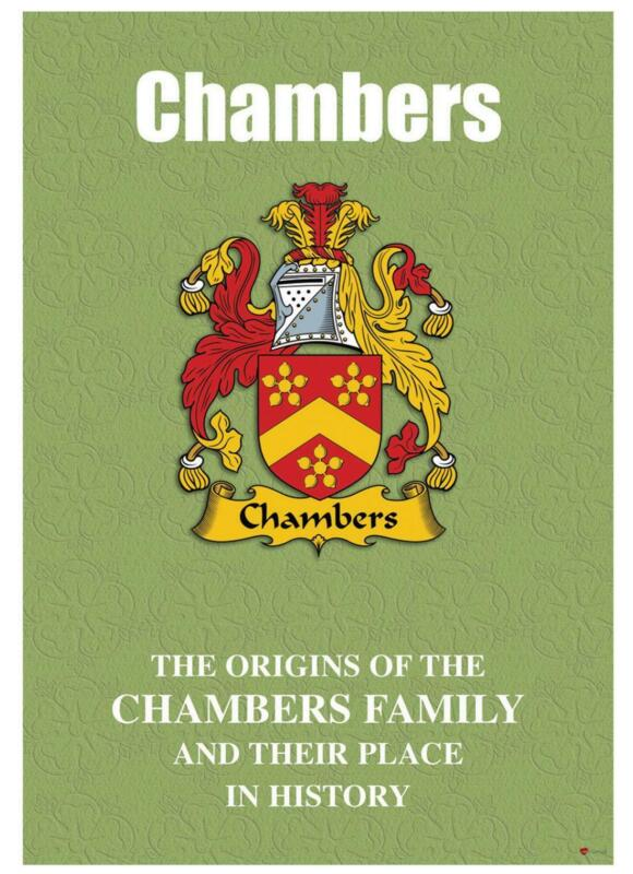 Chambers+English+Surname+History+Booklet+with+Historical+Facts+of+the+Name